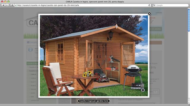 Casette per giardino in legno - Casina in legno giardino ...