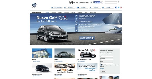 Dealer Web Volkswagen